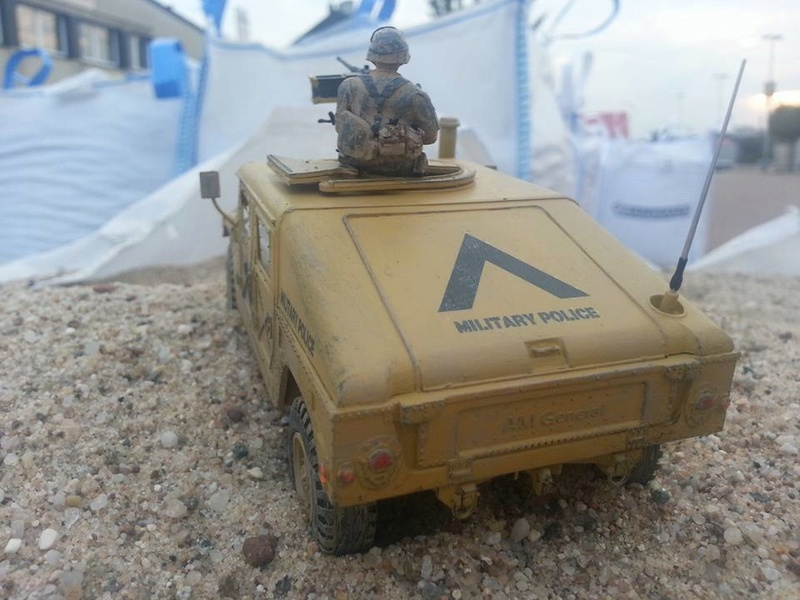 M1025 Armored Carrier 1/35 Academy Hummer12