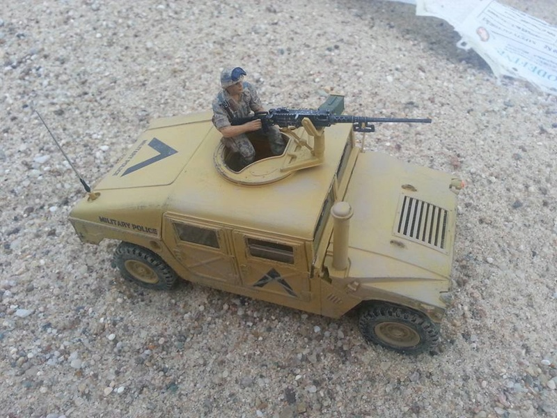 M1025 Armored Carrier 1/35 Academy Hummer13