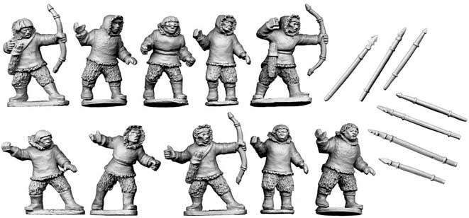 [Saga] Figurines Skraelings 20110