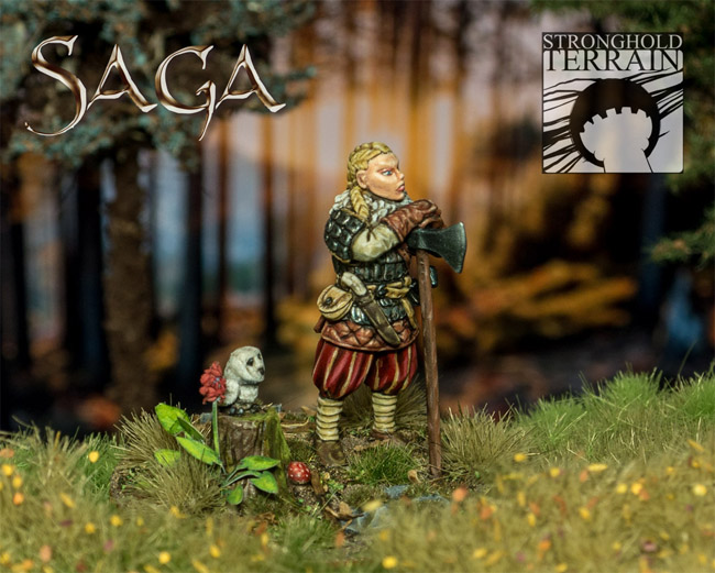 [Saga] La série Vikings en miniature Queen-10