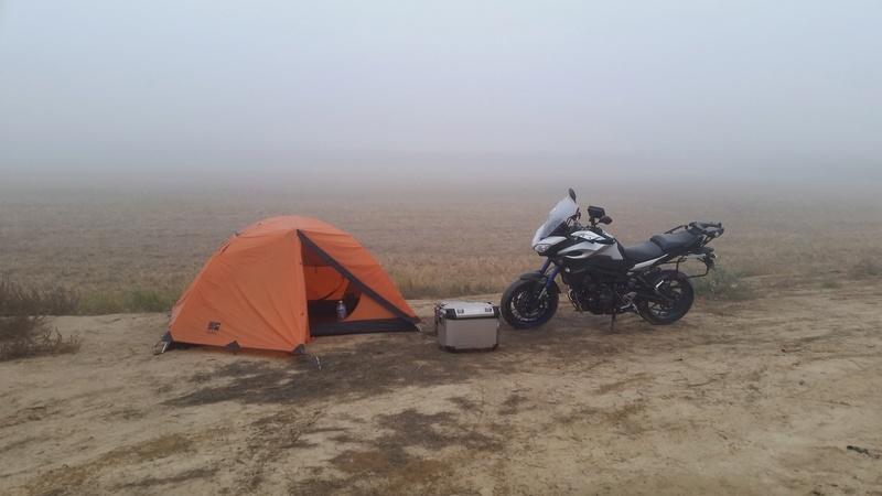 #roadtrip et camping avec nos tracer 20161010