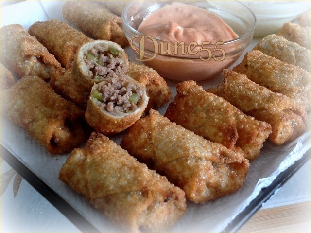 Egg Rolls au Cheeseburger Rcedhe10