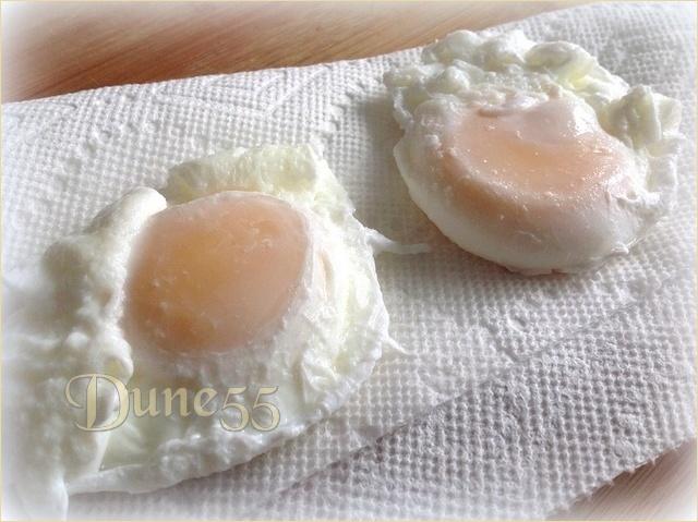 Œufs pochés à la sauce béarnaise Tmchng10