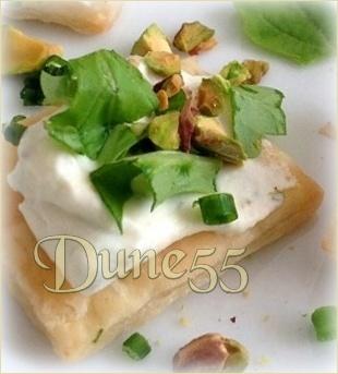 Tartelettes feuilletées au Saint Agur V32zrj10