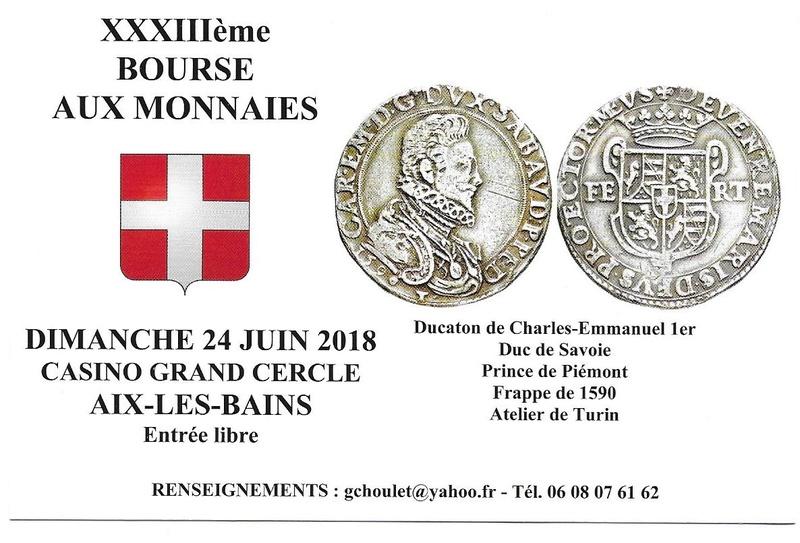 33ème BOURSE AUX MONNAIES D'AIX-LES-BAINS Carte_14