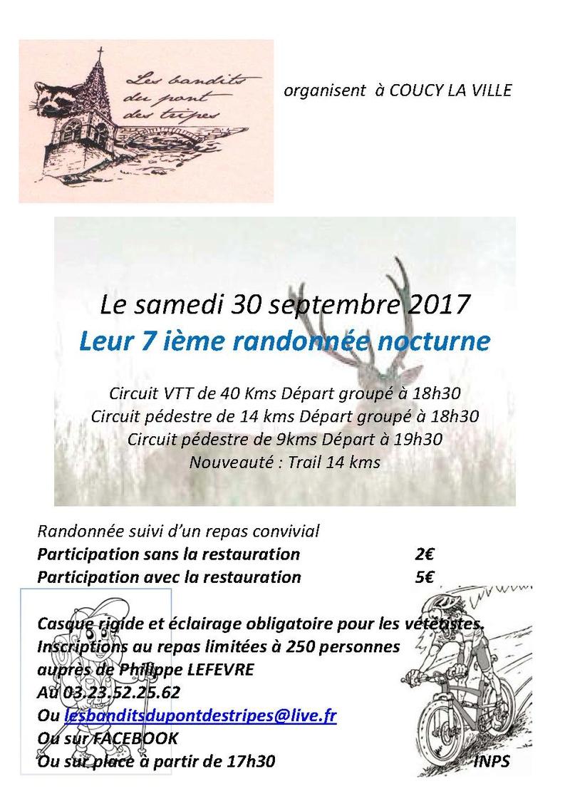 Nocturne des bandits - 30/09/2017 Affich10