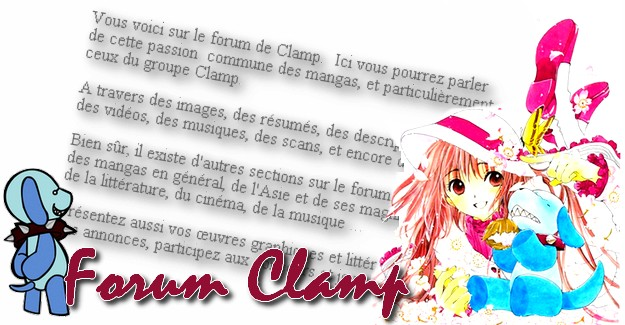 Forum des Mangas de Clamp