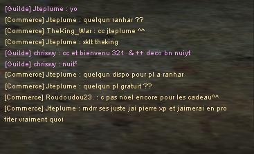 Postulation dans la guilde : La horde Jteplu11