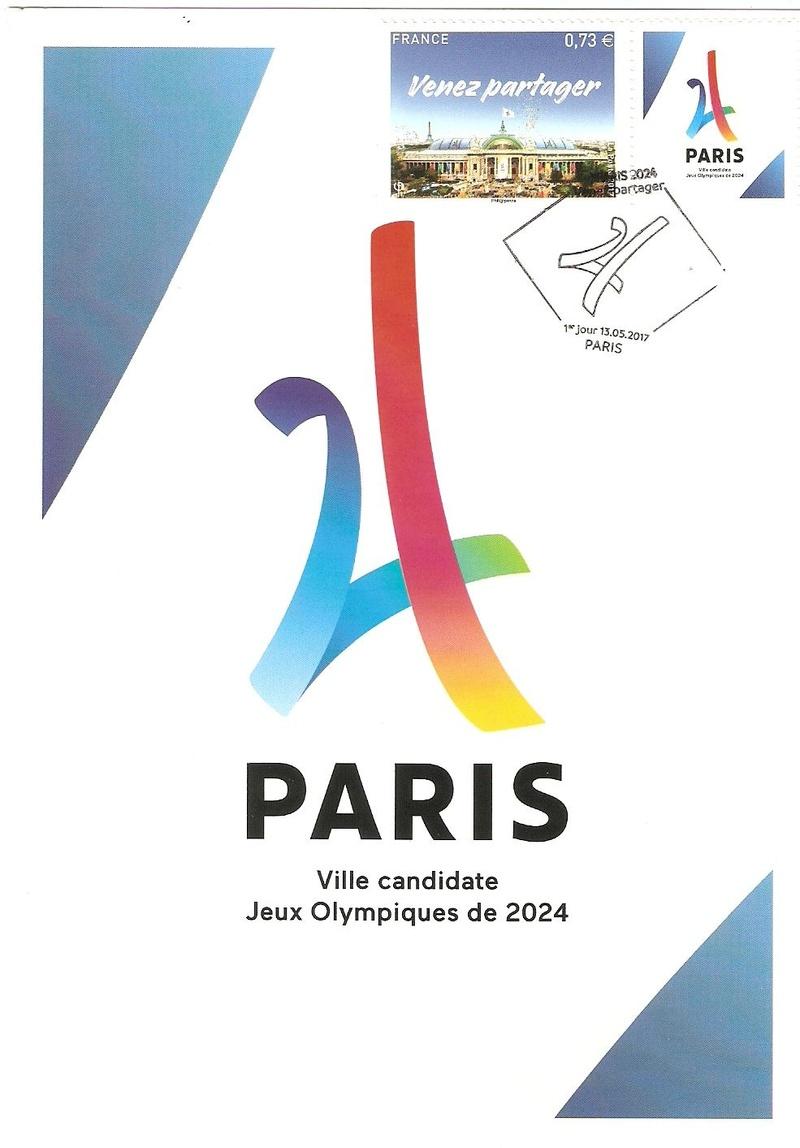 CARTES POSTALES PARIS 2024 Numyri20