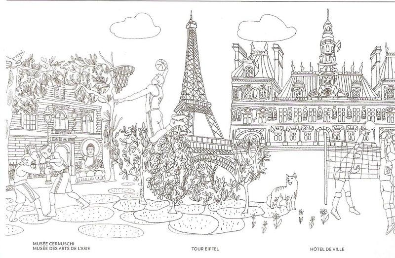 CARTES POSTALES PARIS 2024 Numyri27
