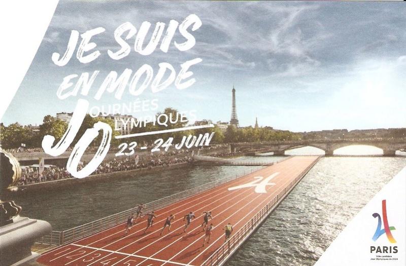 CARTES POSTALES PARIS 2024 Numyri28