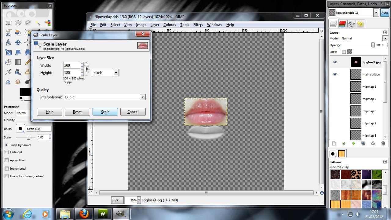Making Lipgloss for sims 3 1510