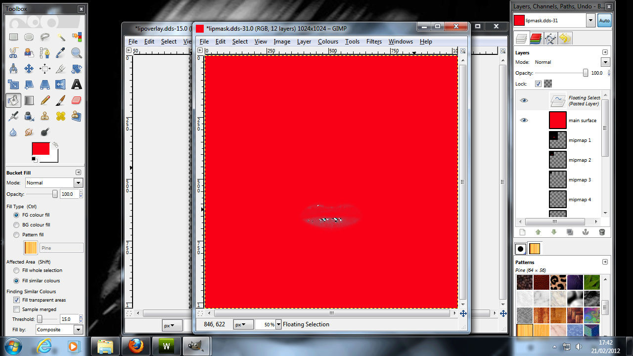 Making Lipgloss for sims 3 2510
