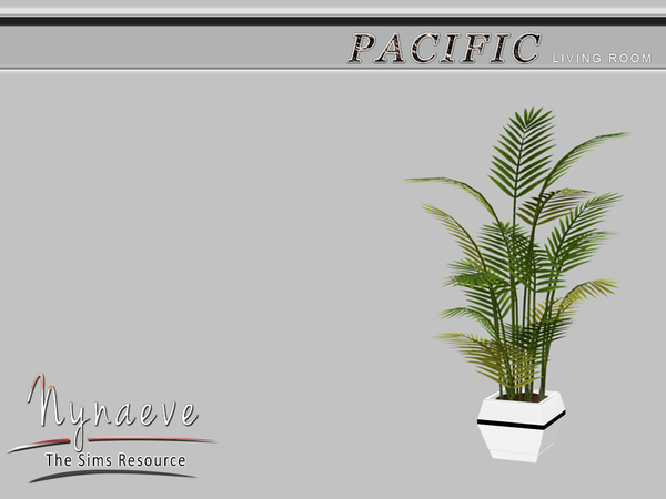 Pacific Heights Potted Plant by NynaeveDesign W-600h18