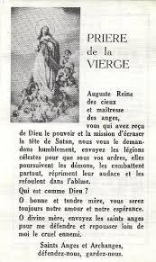 Prière au temps d'épreuves et de combat : Auguste Reine des Cieux. August10
