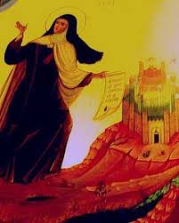 Les sept demeures de l'âme selon sainte Thérèse d'Avila. Chytea10
