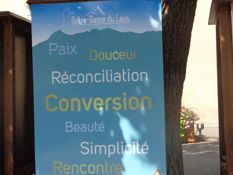 Notre Dame du Laus... et la prière de Benoite. Dsc01611