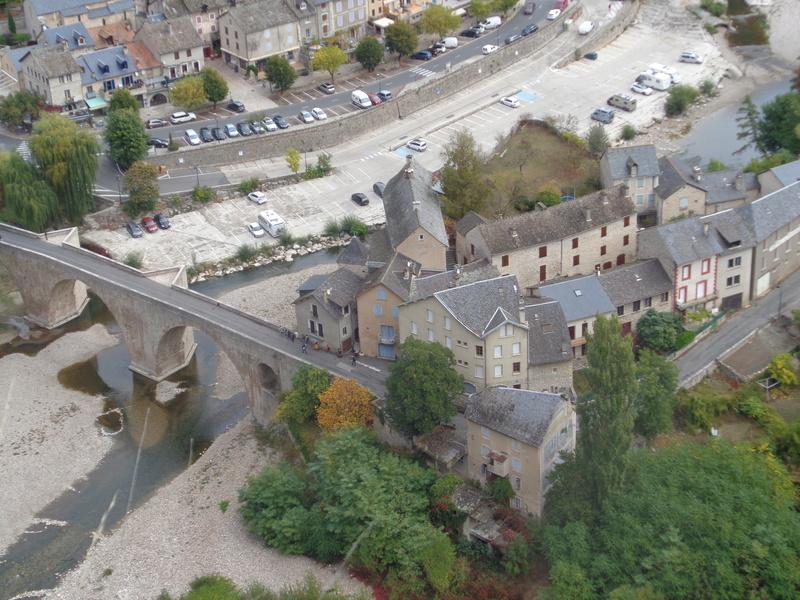 Ce dimanche 1 er octobre nous pélerinions avec Sainte Enimie.  Dsc01712