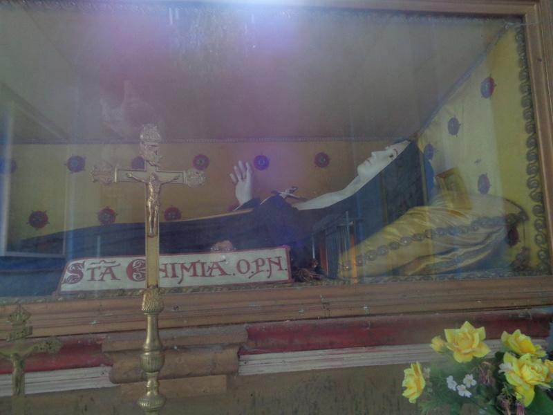 Ce dimanche 1 er octobre nous pélerinions avec Sainte Enimie.  Dsc01713
