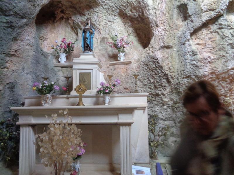 Ce dimanche 1 er octobre nous pélerinions avec Sainte Enimie.  Dsc01714