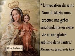 Neuvaine du St Nom de Marie : 4 au 12 septembre 2017. L_invo10
