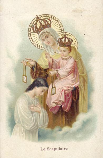 Précieux Scapulaire de Notre Dame du Mont-Carmel. Le_sca10