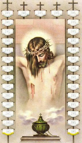 Chapelet du Précieux Sang de Notre Seigneur Jésus-Christ. Priyre10