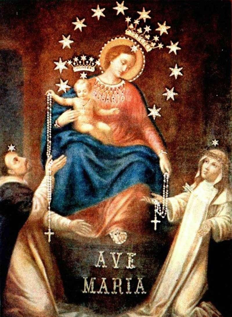 Ô Mère Immaculée de Jésus, me voici à Vos genoux !  Vierge10
