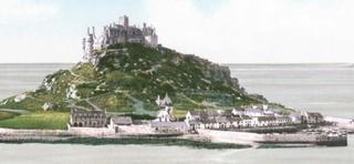 Le Mont Saint Michel, la ligne sacrée, Saint Michel Mount10