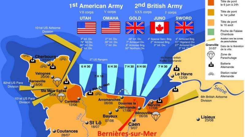 Le débarquement : les paras Américains, opération NEPTUNE . Opyrat10