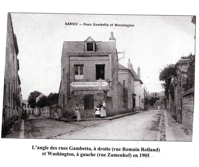 SANVIC -  Carte postale; vue de la maison de mon parrain cordonnier à Sanvic Cordon10