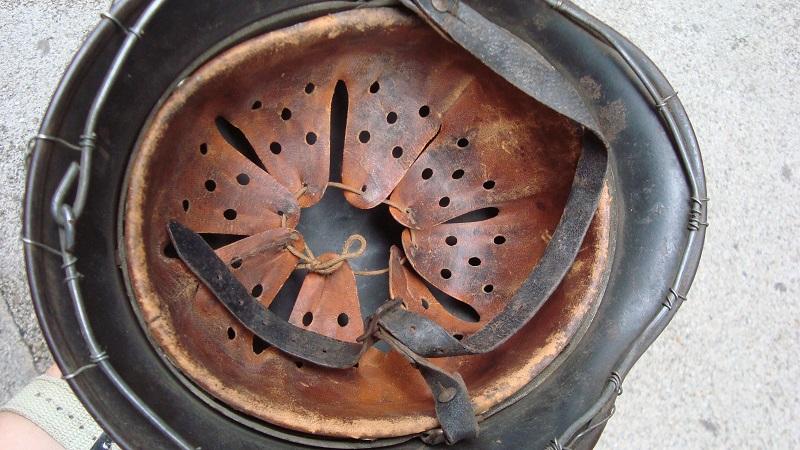 Casque M40 à grillage Dsc05411
