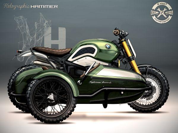 PHOTOS - BMW - Bobber, Cafe Racer et autres... - Page 13 Bmw10