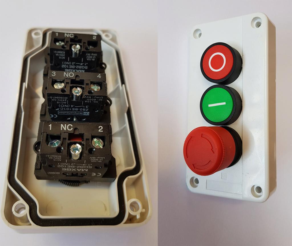 Câblage bouton poussoir Brnach10