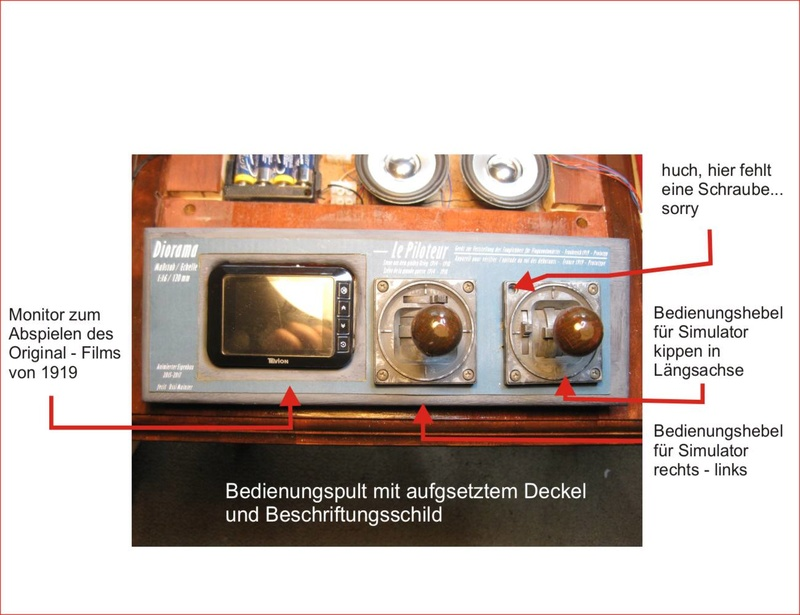 Flugsimulator im ersten Weltkrieg - Diorama im Maßstab 1:16 - Seite 24 Deckel10