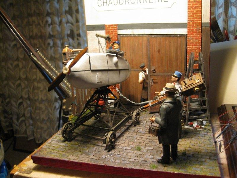 Flugsimulator im ersten Weltkrieg - Diorama im Maßstab 1:16 - Seite 23 Img_4322