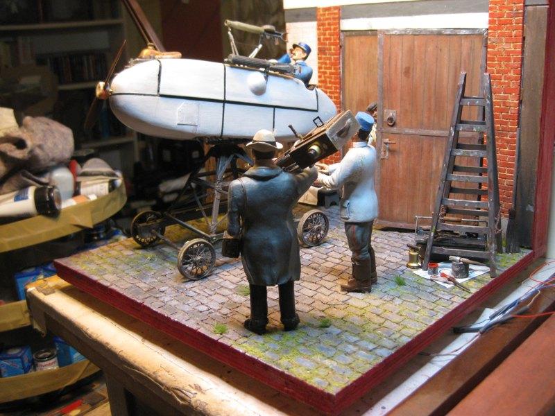 Flugsimulator im ersten Weltkrieg - Diorama im Maßstab 1:16 - Seite 23 Img_4324