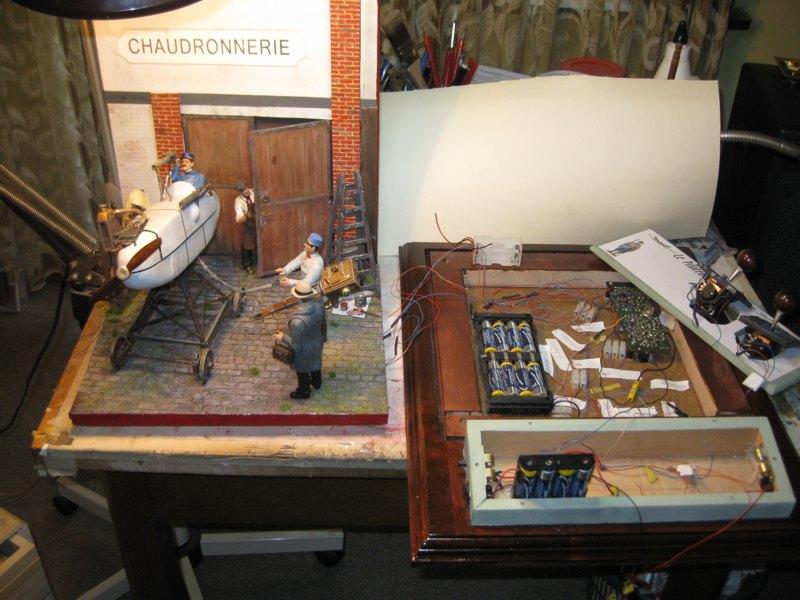Flugsimulator im ersten Weltkrieg - Diorama im Maßstab 1:16 - Seite 23 Img_4325