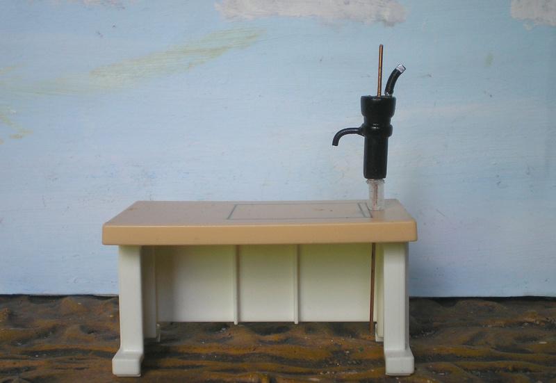 Ranch Ponderosa mit Plastik-Möbeln in der Figurengröße 9 cm 024d2b10