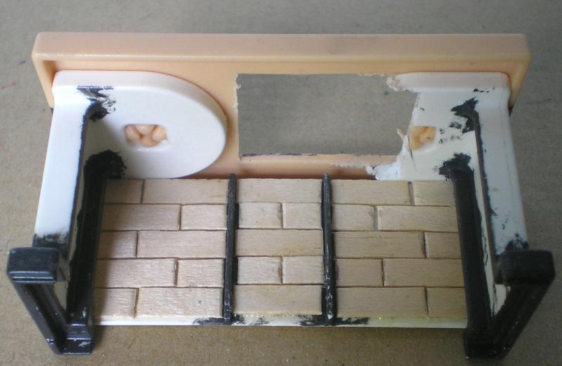 Ranch Ponderosa mit Plastik-Möbeln in der Figurengröße 9 cm 024e3b11