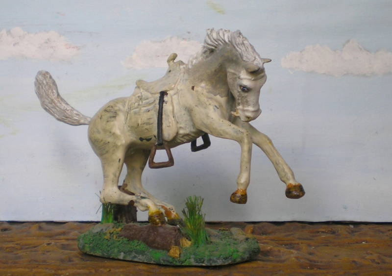 Cowboy zu Pferd mit Lasso - Umbau in der Figurengröße 7 cm - Seite 2 139j3a10