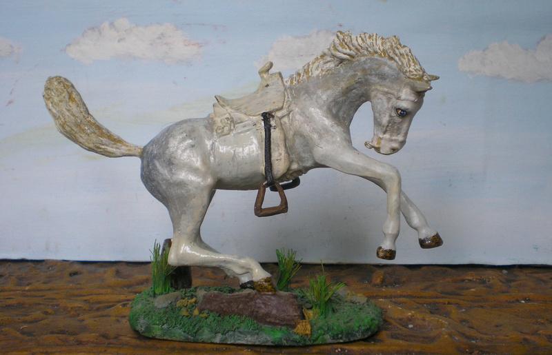 Cowboy zu Pferd mit Lasso - Umbau in der Figurengröße 7 cm - Seite 2 139j3b10