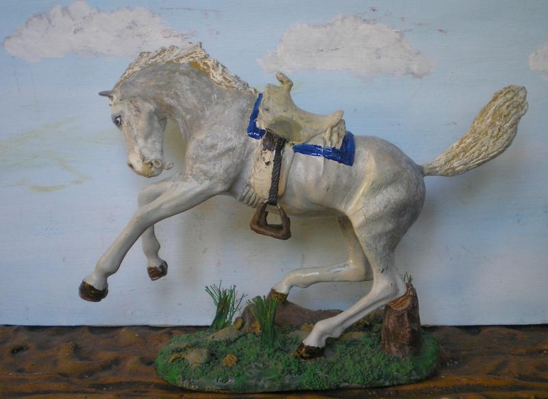 Cowboy zu Pferd mit Lasso - Umbau in der Figurengröße 7 cm - Seite 2 139j3e10