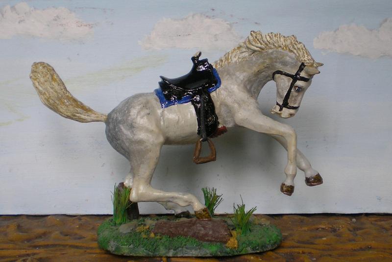 Cowboy zu Pferd mit Lasso - Umbau in der Figurengröße 7 cm - Seite 2 139j3g10