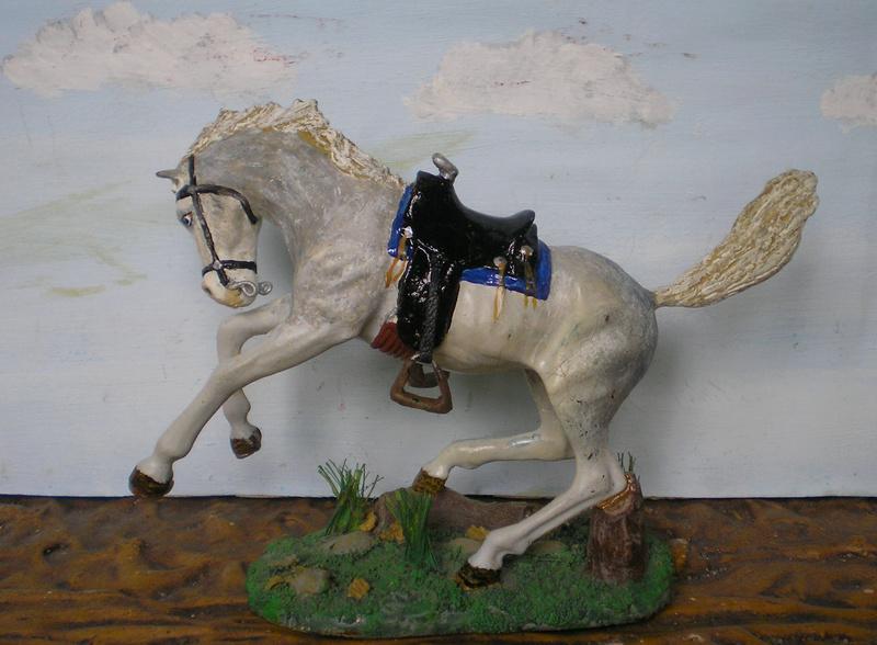 Cowboy zu Pferd mit Lasso - Umbau in der Figurengröße 7 cm - Seite 2 139j3h10