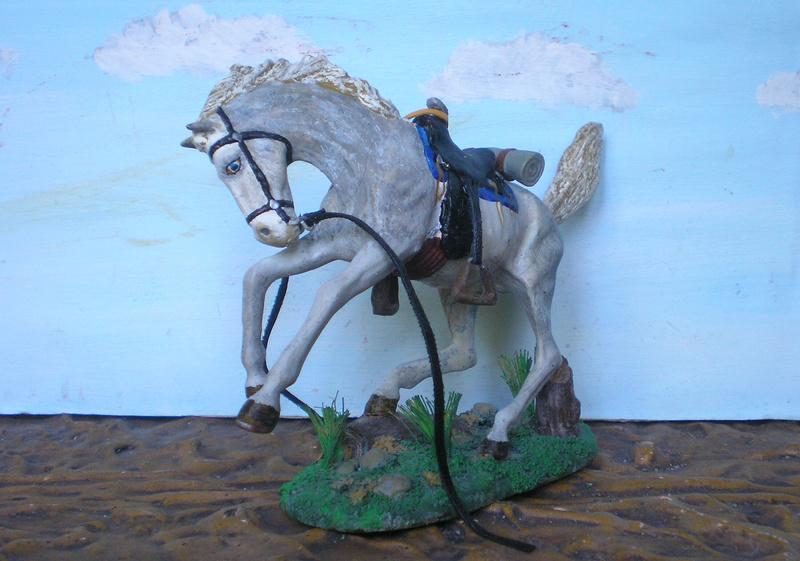 Cowboy zu Pferd mit Lasso - Umbau in der Figurengröße 7 cm - Seite 2 139j4a10