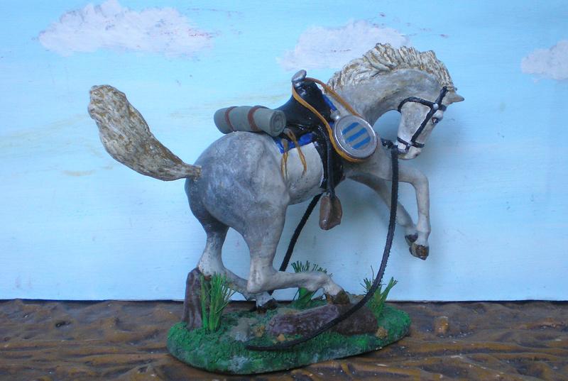 Cowboy zu Pferd mit Lasso - Umbau in der Figurengröße 7 cm - Seite 2 139j4a11