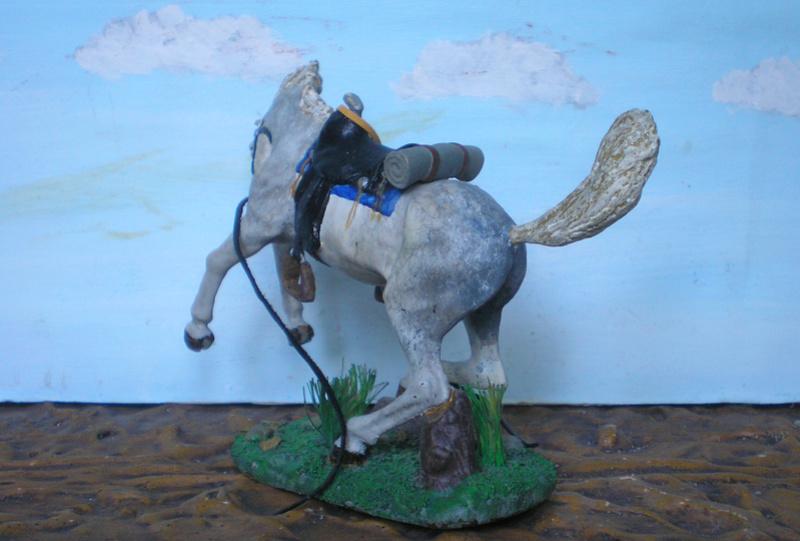 Cowboy zu Pferd mit Lasso - Umbau in der Figurengröße 7 cm - Seite 2 139j4a12