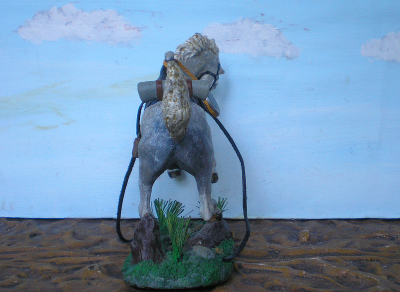 Cowboy zu Pferd mit Lasso - Umbau in der Figurengröße 7 cm - Seite 2 139j4a13