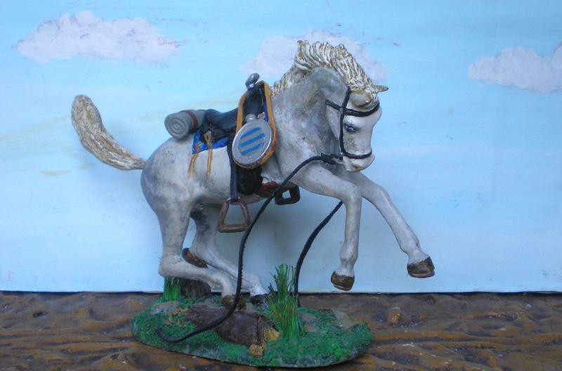 Cowboy zu Pferd mit Lasso - Umbau in der Figurengröße 7 cm - Seite 2 139j4a14